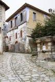 Ελληνική του χωριού αλέα στοκ φωτογραφία με δικαίωμα ελεύθερης χρήσης