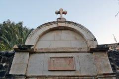 Ελληνική χριστιανική εκκλησία σε Tiberias Στοκ Εικόνες