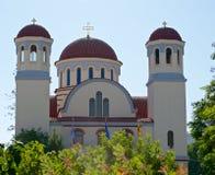 Ελληνική χριστιανική εκκλησία Στοκ φωτογραφία με δικαίωμα ελεύθερης χρήσης