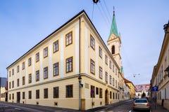 Ελληνικός-καθολική εκκλησία Ζάγκρεμπ Κροατία Στοκ Εικόνα