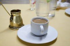 Ελληνικός καφές Στοκ εικόνα με δικαίωμα ελεύθερης χρήσης