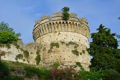 ελληνικός πύργος Στοκ εικόνα με δικαίωμα ελεύθερης χρήσης