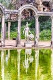 Ελληνικό άγαλμα Ares, εσωτερική βίλα Adriana (βίλα του Αδριανού), Tj Στοκ εικόνα με δικαίωμα ελεύθερης χρήσης