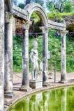 Ελληνικό άγαλμα Ares, εσωτερική βίλα Adriana, Tivoli Στοκ Εικόνες