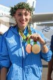 Ελληνικό αστέρι Anna Korakaki πυροβολισμού - Ολυμπιακοί Αγώνες του Ρίο Στοκ Εικόνα