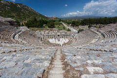 Ελληνικό θέατρο Ephesus Στοκ φωτογραφία με δικαίωμα ελεύθερης χρήσης