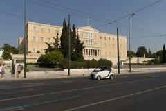 Ελληνικό κτήριο του Κοινοβουλίου Στοκ εικόνα με δικαίωμα ελεύθερης χρήσης