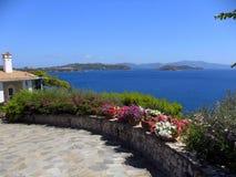 Ελληνικό νησί Skiathos Στοκ εικόνα με δικαίωμα ελεύθερης χρήσης