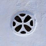 Ελληνικό παράθυρο εκκλησιών Στοκ εικόνες με δικαίωμα ελεύθερης χρήσης