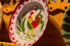 ελληνικό πιάτο Στοκ εικόνες με δικαίωμα ελεύθερης χρήσης