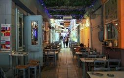 Ελληνικό πορτρέτο της καθημερινής ζωής σε Θεσσαλονίκη Στοκ εικόνα με δικαίωμα ελεύθερης χρήσης