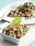 Ελληνικό salsa σαλάτας Στοκ εικόνα με δικαίωμα ελεύθερης χρήσης