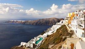 ελληνικό santorini νησιών Στοκ φωτογραφία με δικαίωμα ελεύθερης χρήσης