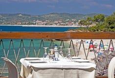 ελληνικό taverna Στοκ Εικόνες