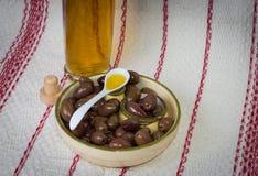 ελιές ελιών πετρελαίου Στοκ Φωτογραφία