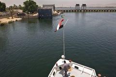 Ελιγμός στον ποταμό του Νείλου στοκ εικόνες