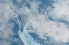 Ελιγμός Aerobatic στοκ φωτογραφίες με δικαίωμα ελεύθερης χρήσης