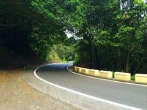 Ελικοειδής δρόμος στοκ εικόνες