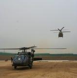 Ελικόπτερα στο Αφγανιστάν Στοκ εικόνα με δικαίωμα ελεύθερης χρήσης