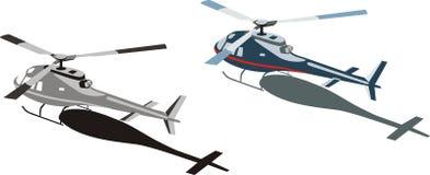 ελικόπτερα Διανυσματική απεικόνιση