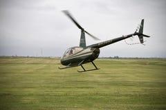 ελικόπτερο από τη μικρή λήψη Στοκ Εικόνες