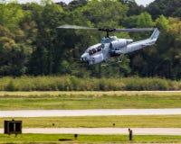 Ελικόπτερο πάλης Apache Στοκ εικόνες με δικαίωμα ελεύθερης χρήσης