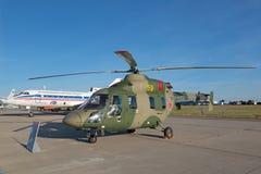 Ελικόπτερο ansat-u Στοκ Εικόνες