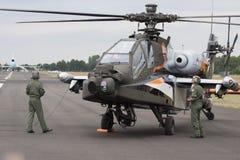 Ελικόπτερο Apache ah-64D Στοκ εικόνα με δικαίωμα ελεύθερης χρήσης