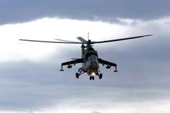 Ελικόπτερο mi-24 Στοκ Φωτογραφίες