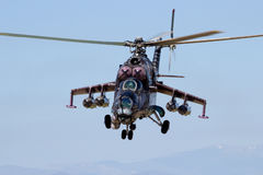 24 ελικόπτερο mi Στοκ εικόνες με δικαίωμα ελεύθερης χρήσης