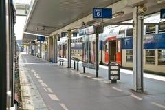 Ελλιμενίζοντας σταθμός τραίνων στοκ φωτογραφία με δικαίωμα ελεύθερης χρήσης