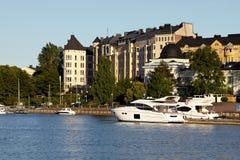 Ελλιμενισμένα γιοτ Στοκ φωτογραφίες με δικαίωμα ελεύθερης χρήσης