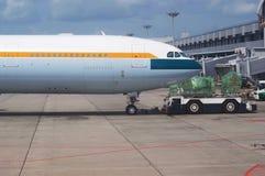 Ελλιμενισμός αεροπλάνων Στοκ Εικόνα