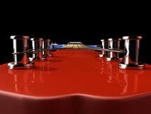 Ε-κιθάρα Στοκ Φωτογραφία