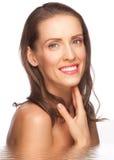 ελκυστική γυναίκα ύδατ&omicro στοκ φωτογραφία με δικαίωμα ελεύθερης χρήσης