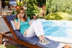 ελκυστική κυρία Στοκ εικόνες με δικαίωμα ελεύθερης χρήσης