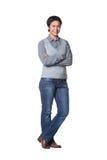 Ελκυστική νέα επιχειρηματίας Στοκ φωτογραφία με δικαίωμα ελεύθερης χρήσης