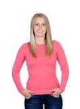 Ελκυστικό χαμόγελο γυναικών Στοκ φωτογραφίες με δικαίωμα ελεύθερης χρήσης