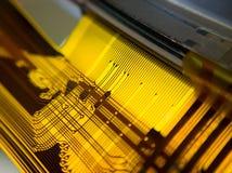 δεδομένου ότι το χαρτόνι ανασκόπησης μπορεί να βραχυκυκλώσει τη χρήση Στοκ Εικόνα