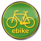 Ε-ποδήλατο σημαδιών Στοκ φωτογραφίες με δικαίωμα ελεύθερης χρήσης