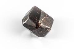 Εδροτομημένο πολύτιμους λίθους γρανάτης κρύσταλλο Στοκ Φωτογραφίες