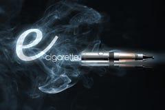 Ε-τσιγάρο διανυσματική απεικόνιση