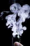Ε-τσιγάρο vape Στοκ Φωτογραφία