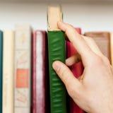 Εδώ είναι ένα βιβλίο Ι ανάγκη. Στοκ Εικόνες