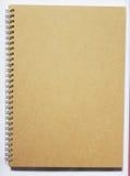 εδώ σπείρα σημειωματάριων tex σας Στοκ Εικόνα