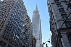 Εmpire State Building Νέα Υόρκη, Νέα Υόρκη Στοκ Εικόνες