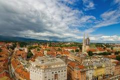 Ζάγκρεμπ Κροατία Στοκ φωτογραφία με δικαίωμα ελεύθερης χρήσης