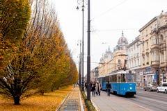 Ζάγκρεμπ το φθινόπωρο Στοκ φωτογραφία με δικαίωμα ελεύθερης χρήσης