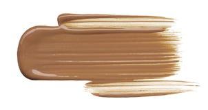 Ζάλη και αποκλειστικές κηλίδες των καλλυντικών προϊόντων Στοκ φωτογραφία με δικαίωμα ελεύθερης χρήσης
