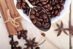 Ζάχαρη και καρύκευμα Coffe Στοκ Φωτογραφίες